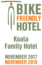 Κοala hotel, bike friendly