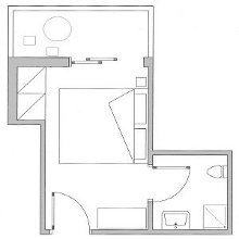 Single room plan